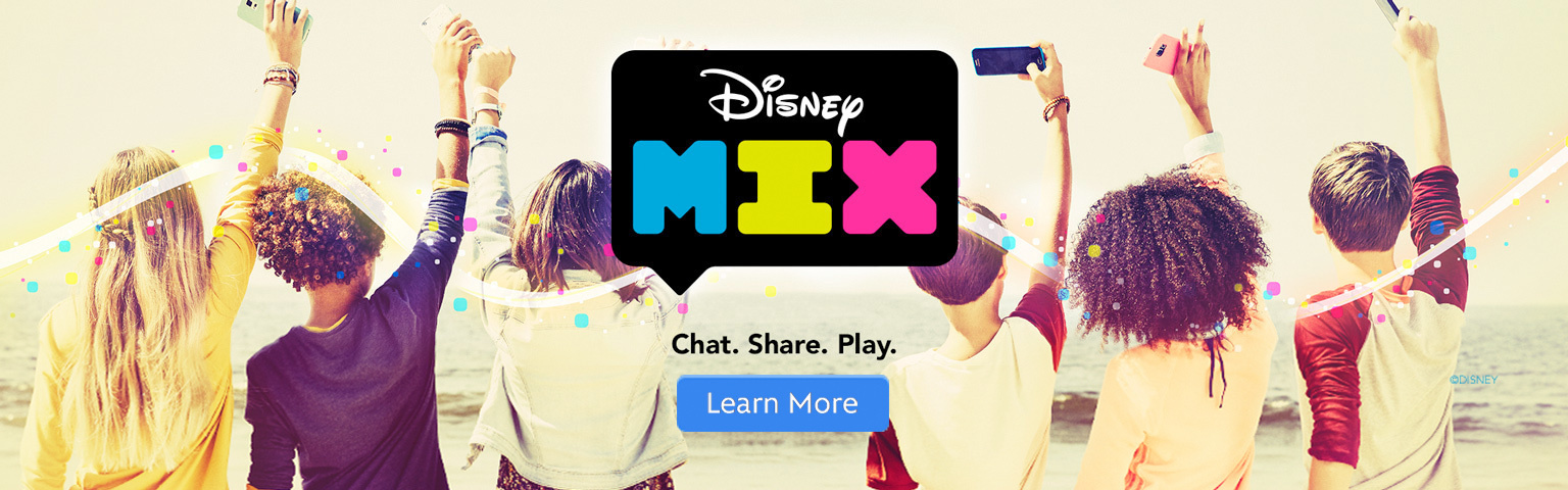 [Homepage] Disney Mix - Hero - SG