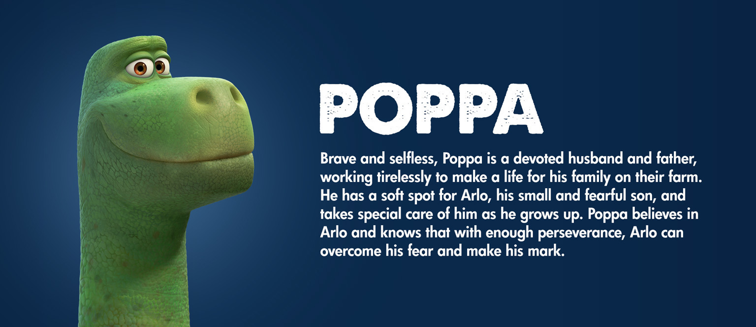 The Good Dinosaur - Character - Poppa