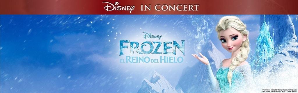 Frozen in concert - Live Events (hero)