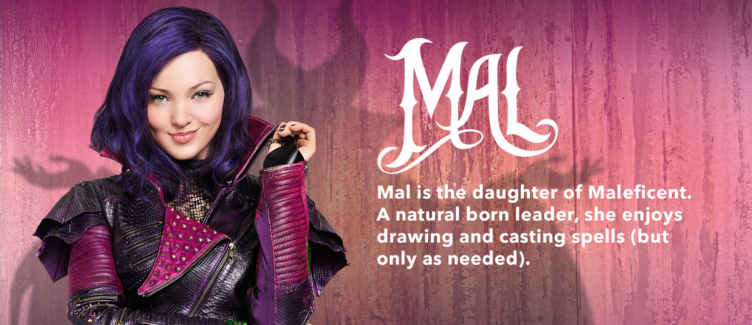 Descendants Character Slider Mal - SG