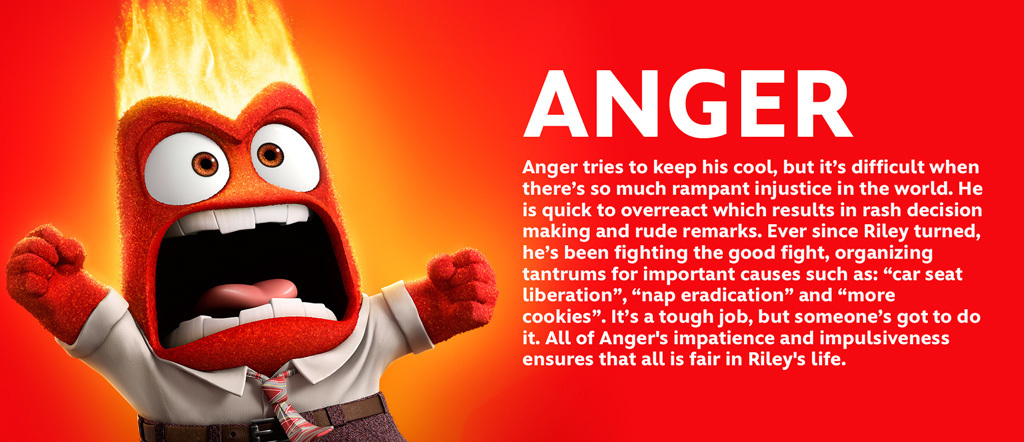Inside Out - Anger Character