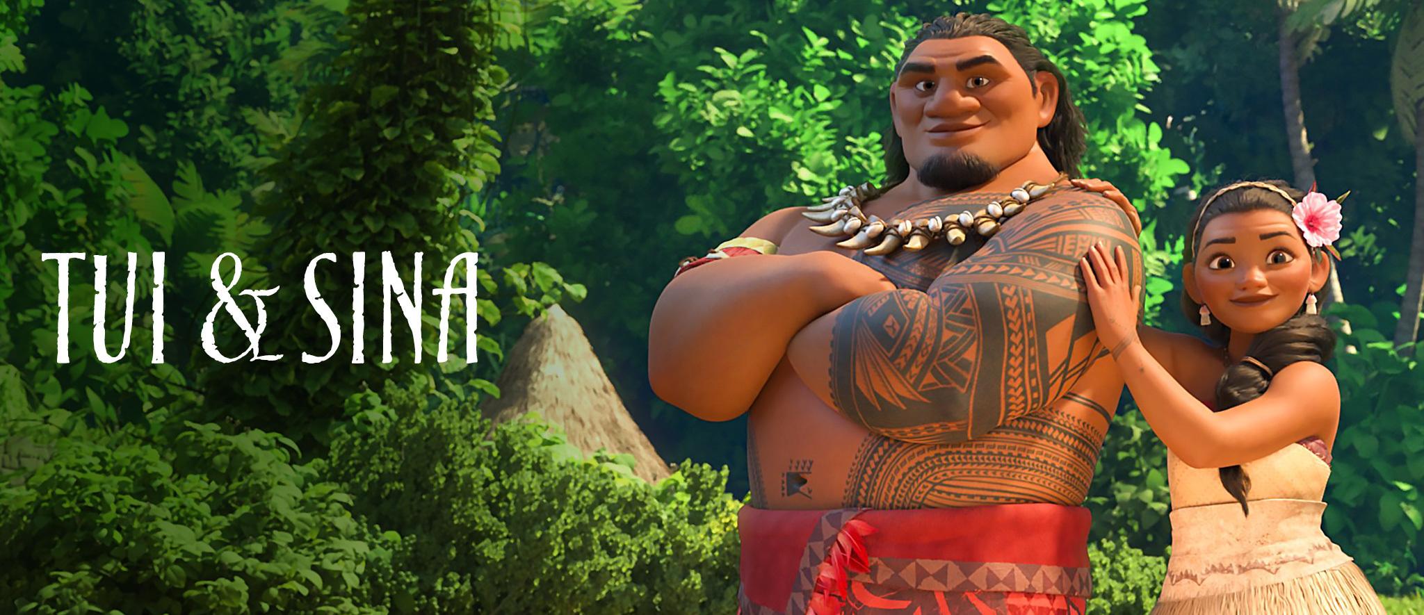 Moana - Character Hero - Tui and Sina