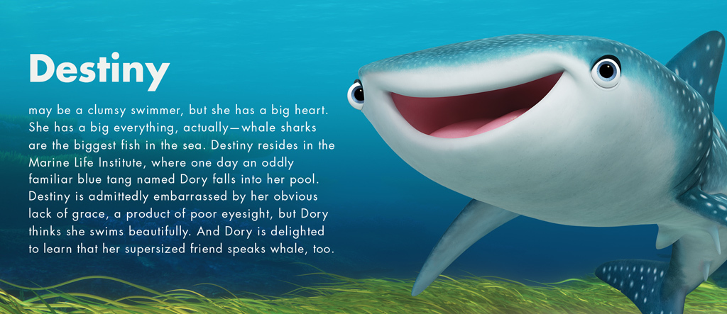 Finding Dory - Destiny character - PH