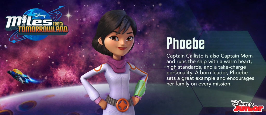 Miles From Tomorrowland - Phoebe Hero