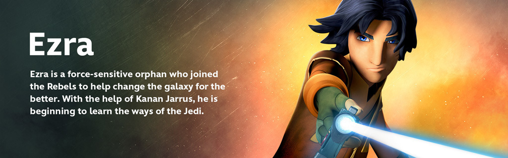 Ezra Character Hero