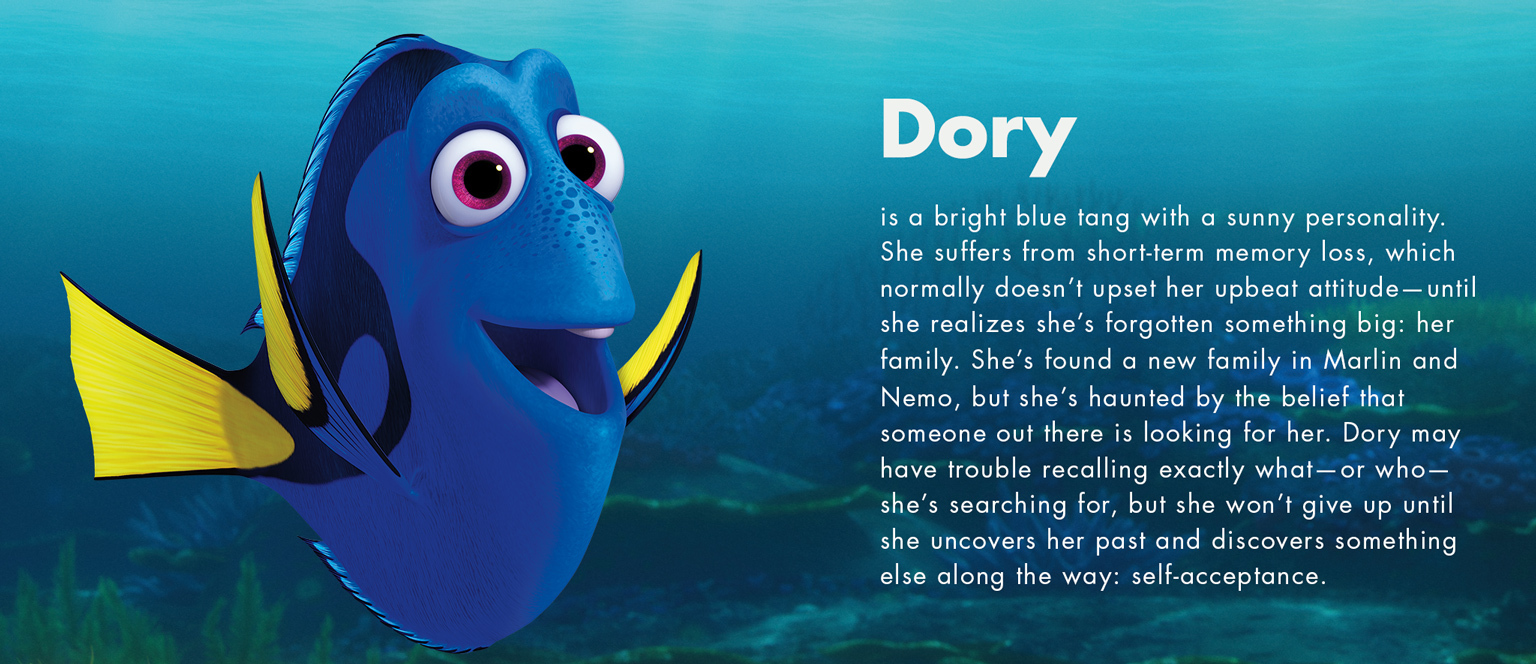 Finding Dory - Dory character
