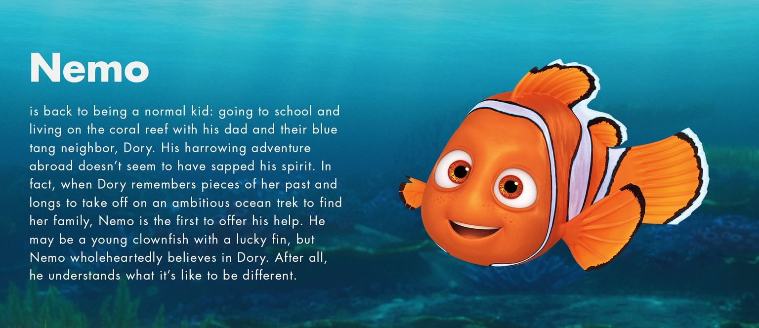 Finding Dory - Nemo character