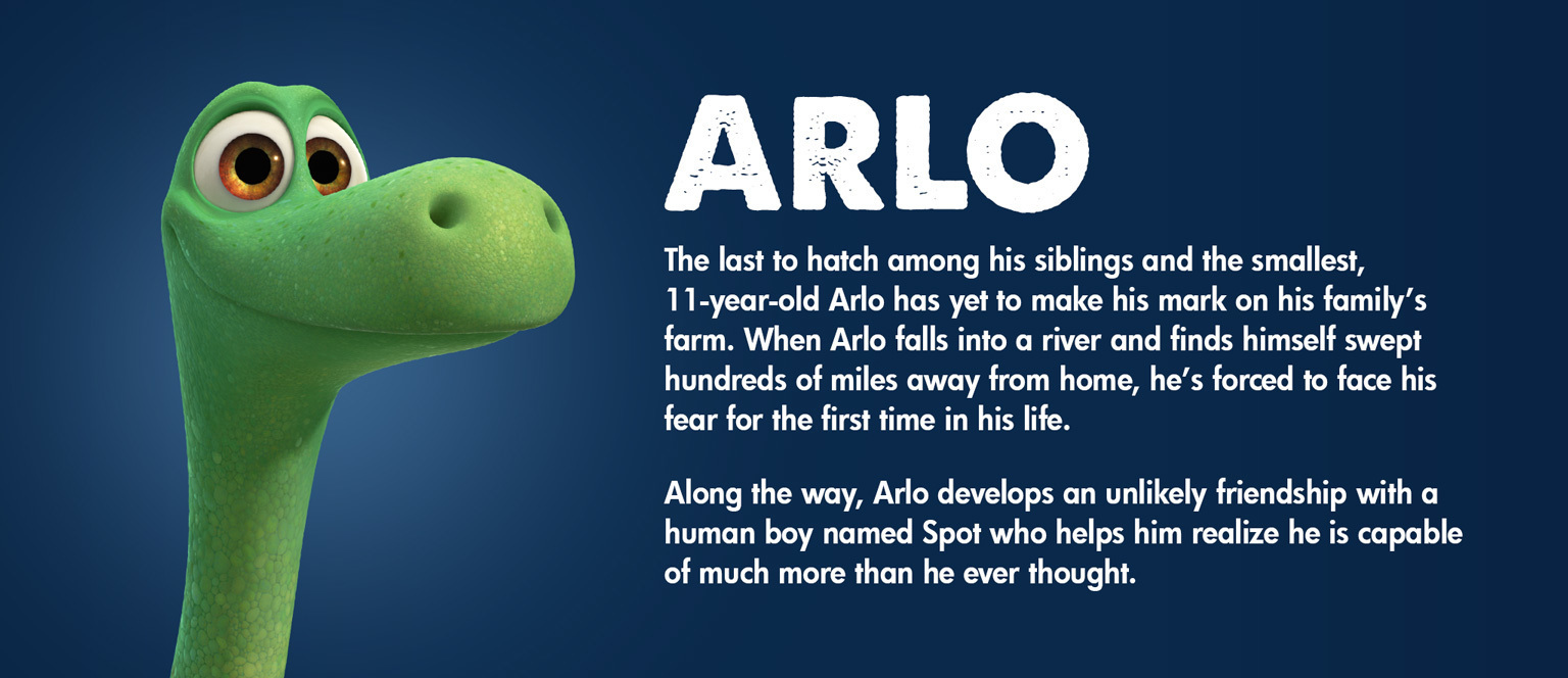 The Good Dinosaur Character Arlo - SG
