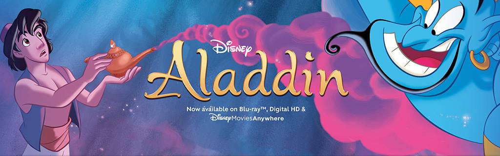Aladdin Products Hero - Blu-Ray Street Date