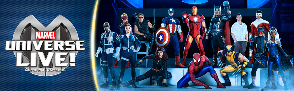 Live Events Homepage - Marvel Universe Live