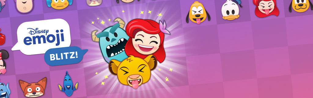 Disney Emoji Blitz - Homepage hero