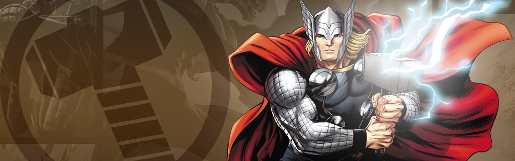 Thor Character Page Hero