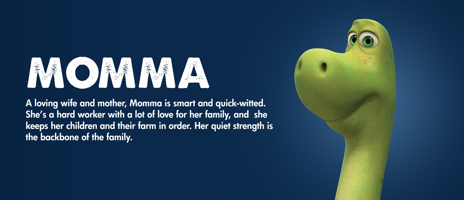The Good Dinosaur - Character - Momma