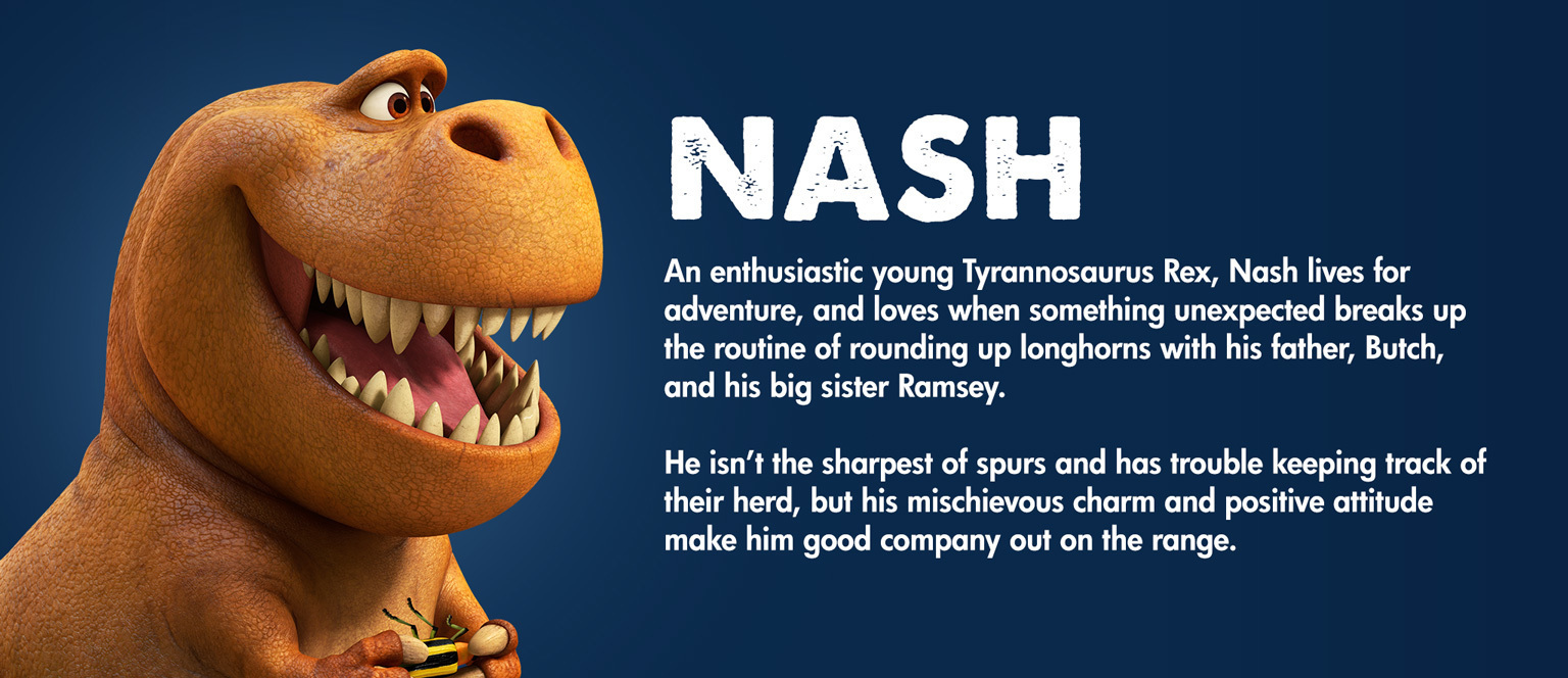 The Good Dinosaur - Character - Nash