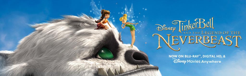 Fairies - Legend of the Neverbeast - Movie Page Hero Key Art