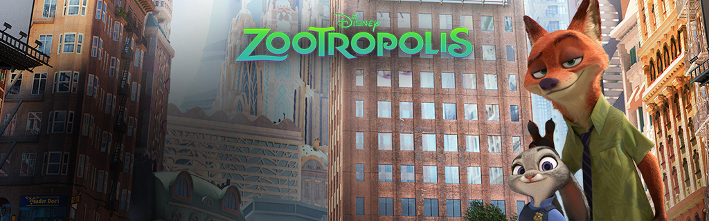 IT Homepage Hero - Zootropolis (Animated)