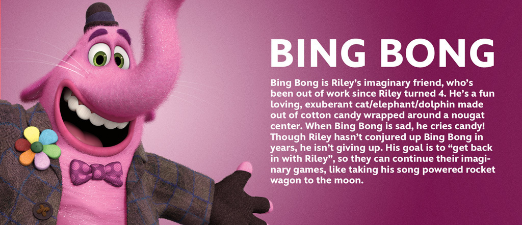 Inside Out - Bing Bong Character
