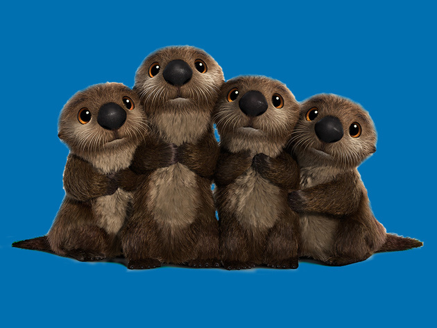 Otters are seriously cute seriously who can resist their sweet