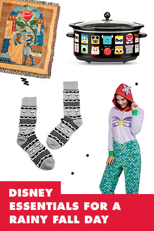 8 DISNEY ESSENTIALS FOR A RAINY FALL DAY