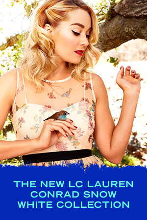 THE NEW LC LAUREN CONRAD SNOW WHITE COLLECTION