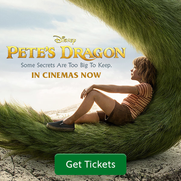 "Pete's Dragon In Cinemas ""More Disney"" Square - SG"