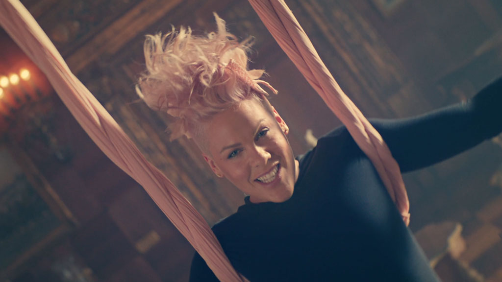 """P!NK """"Just Like Fire"""" Music Video 