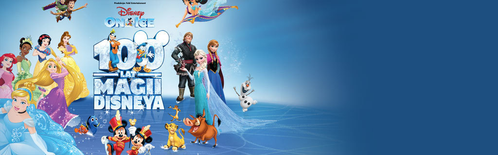 Disney on Ice - 100 Years of Magic - Homepage hero