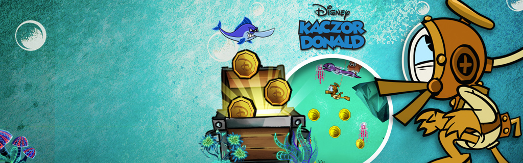 Donald Duck Treasure Frenzy - Homepage hero
