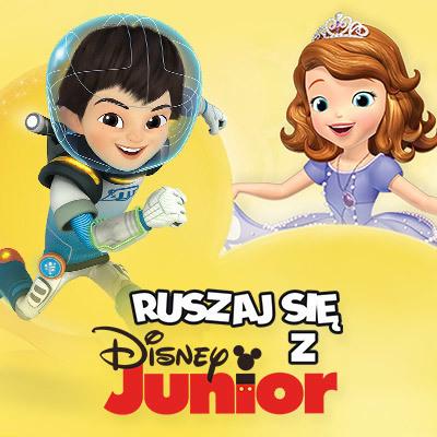 Ruszaj się z Disney Junior