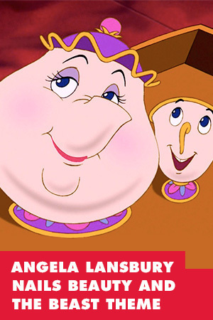 ANGELA LANSBURY COMPLETELY NAILS BEAUTY AND THE BEAST THEME FOR 25TH ANNIVERSARY