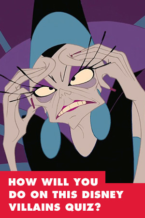 HOW WELL WILL YOU DO ON THIS DISNEY VILLAINS QUIZ?