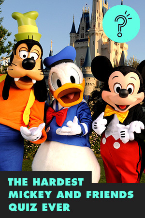 THE HARDEST MICKEY AND FRIENDS QUIZ EVER