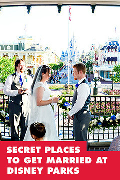 Secret Places You Can Get Married at Disney Parks