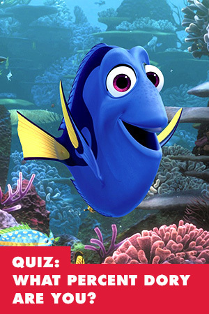 QUIZ: WHAT PERCENT DORY ARE YOU?