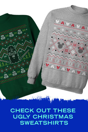 UGLY DISNEY CHRISTMAS SWEATSHIRTS