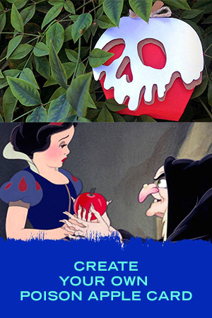 Create Your Own Poison Apple Card