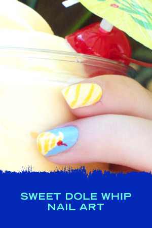 SWEET DOLE WHIP NAIL ART