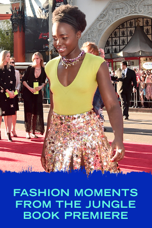 Fashion Moments from The Jungle Book Premiere