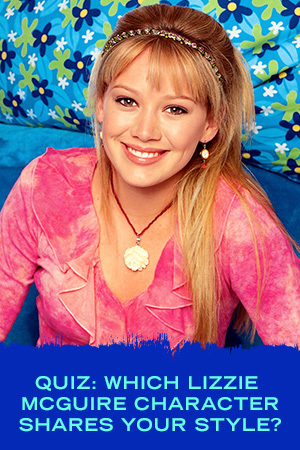QUIZ: WHICH LIZZIE MCGUIRE CHARACTER SHARES YOUR STYLE?