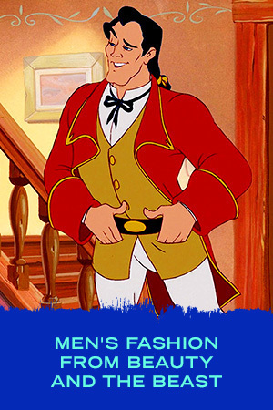 Men's Fashion from Beauty and the Beast