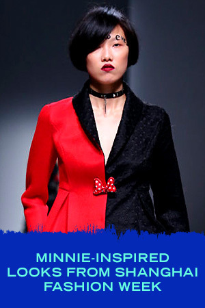 MINNIE-INSPIRED LOOKS FROM SHANGHAI FASHION WEEK