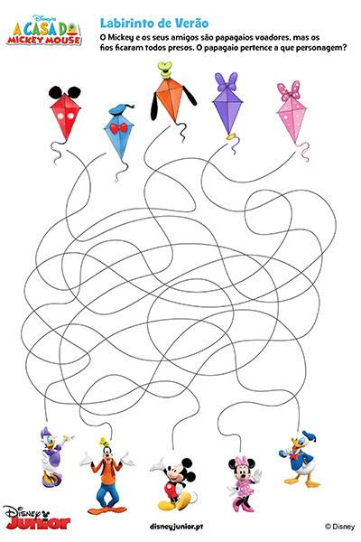Livro de Atividades do Disney Junior