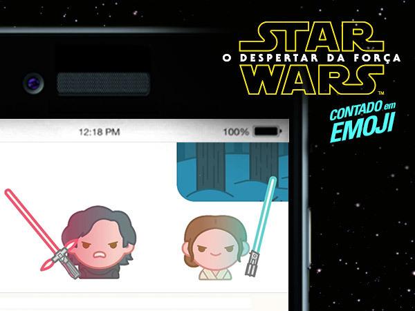Star Wars contado em emojis
