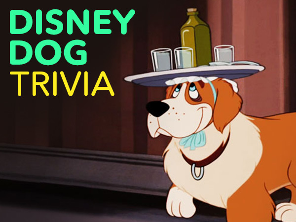 Name that Disney Dog Quiz