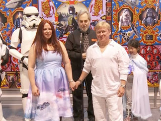 Star Wars Wedding at Rancho Obi-Wan - Star Wars Celebration Anaheim