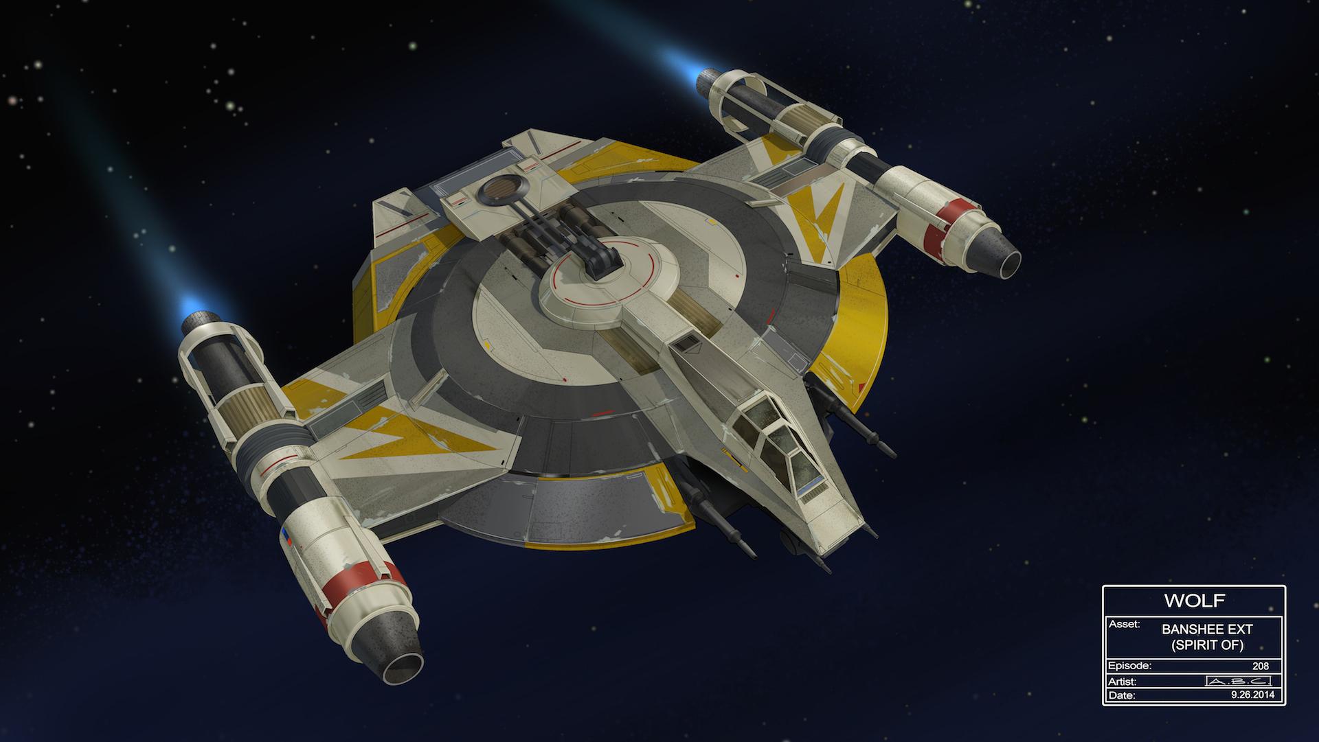 REBEL CAPTIVE Star Wars Rebels Raumschiffe