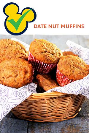 Date Nut Muffins
