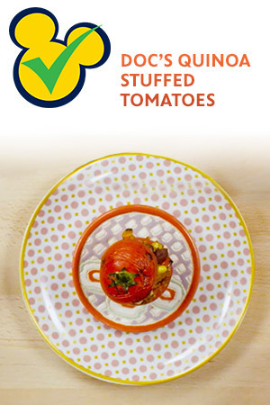 DOC'S QUINOA STUFFED TOMATOES