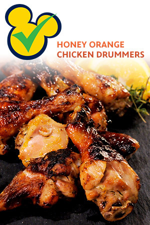 MC Honey Orange Chicken Drummers