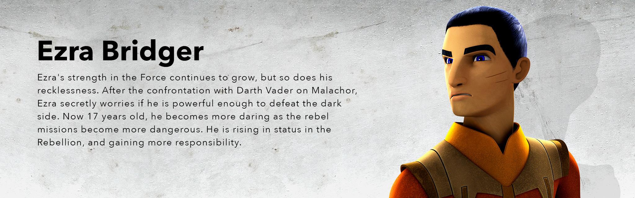 Star Wars Rebels Season 3 - Ezra - Hero